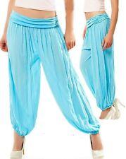Sexy Miss Ladies Stylish Pump Harems Aladin Sarouel Pants 34/36/38 Turquoise