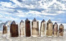 Wholesale Lot 1 Lb Natural Smoky Quartz Obelisk Tower Point Crystal Energy