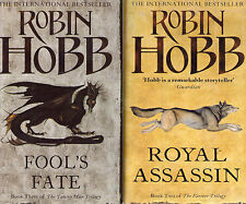 Complete Set Series Lot of 13 Elderlings Books by Robin Hobb (Liveship, Farseer)