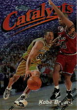 1997-98 Topps Finest Catalysts Uncommon Card Kobe Bryant #137 with Coating/Peel