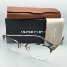 New OLIVER PEOPLES Eyeglasses WALSTON OV 1176 5230 49-21 Pewter & Silver Frames