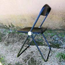 Plia Giancarlo Piretti Anonima Castelli Folding Chair Vintage Design Total Black