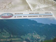 Alpenbahnen Westalpen K 34 Brünigbahn Giswil Brünigpass Zahnstangenstrecker