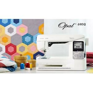 Husqvarna Viking Opal 690Q Quilting Sewing Machine BNIB 5 Year Warranty
