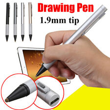 1.9mm Rechargeable Capacitive Active Touch Screen Stylus Drawing Pen Universal
