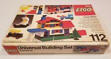 LEGO Vintage 1976 Empty Box ONLY - # 112 Universal Building Set