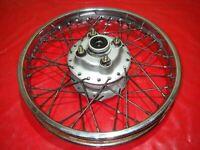 Ruota Posteriore Cerchi Cromo Bordo Cerchione 16x1.85 Dot Buono Tenuto Yamaha Sr