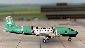 Douglas DC-4 Buffalo Airways 1:500 mit OVP Herpa Wings NG Flugzeugmodell