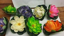 foam water lily artificial water lily many colours uk stock fast post new stock