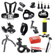 Basic Outdoor Sports Camera Accessories Kit for Gopro Go pro hero 5 4 Session 3+