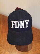FDNY Navy Blue Baseball Cap Adjustable NWTs