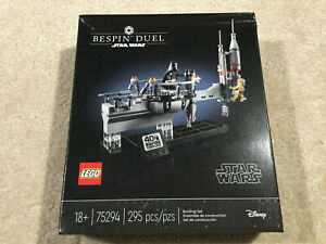 LEGO Star Wars 40th Bespin Duel 75294 set Limited Release - New - Factory Sealed