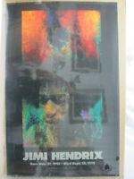 JIMI HENDRIX 1945-1970 GUITARIST ROCK VINTAGE POSTER GARAGE CNG316