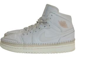 Nike Sneakers Pink Beige Tan Air Jordan 1 Retro High Desert Sand Womens Size 9.5
