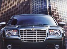 2005 Chrysler 300C 300 Touring 300 Limited Dealer Sales Brochure