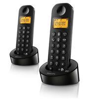 Philips Schnurlostelefon D125 Duo D1252B/38 Gebraucht