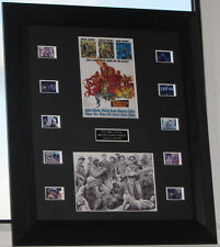 """THE DIRTY DOZEN"" CLASSIC MOVIE  COA  FILM CELLS MOUNTED WAR MOVIE"
