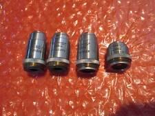 Set of 4 Reichert Lens 449428 453434.1 452326 432370 for Reichert Microscope