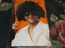 NEW NIP Halloween Super Afro wig with hair pic adult male costume unique hippy