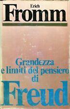 Erich Fromm GRANDEZZA E LIMITI DEL PENSIERO DI FREUD ed. rileg.