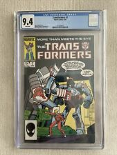 MARVEL COMICS Transformers #7 (1985) CGC 9.4 WHITE PAGES