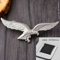 German Luftwaffe Eagle brooch with Iron Cross Custom Small Badge With iron box