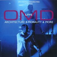 OMD CD Live (Architecture & Morality & More) - Europe (M/M - Scellé / Sealed)