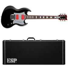 ESP LTD Glenn Tipton GT-600 Black w/ Red BLK NEW + ESP Viper Hardshell Case!