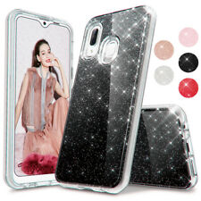 For Samsung A10E A20/30 A20S A01 A71 A51 Case Hybrid Glitter Bling Phone Cover