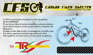 CFS - Carbon Fiber Shelter Protezione Telaio Bici in Fibra di Carbonio
