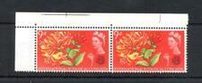 9d BOTANICAL (PHOSPHOR) UNMOUNTED MINT PAIR + VARIETY