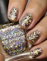 Deborah Lippmann Nail Polish **GLITTER AND  BE GAY **  NEW/ Full Size - VHTF!!