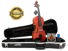 D'Luca Strauss 400 Concerto Violin 3/4 with SKB Molded Case, Strings and Tuner