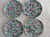 Bloomingdale's Made in Italy-Olives Purple & Green - Set of 4 Dinner Plates