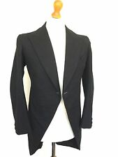 Men's Vintage Bespoke 1920's Morning Coat Tails Tailcoat Size 36 (MC114)