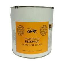 Cambridge Traditional Beeswax Polish Wooden Furniture Cream Neutral 1.8kg Tin