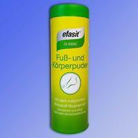 efasit® Classic Fuß und Körperpuder, desodoriert u. pflegt, Antitranspirant