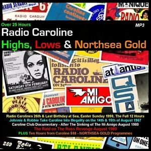 Pirate Radio Caroline Highs Lows & Northsea Gold Listen In Your Car