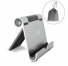 NEW! iPad Stand TechMatte Multi-Angle Aluminum Holder Tablets, E-Readers, etc!