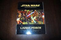 Livre STAR WARS LIVING FORCE JDR Roleplaying game Jeu de role ENGLISH version