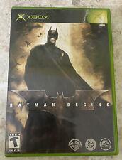 Batman Begins (Microsoft Xbox Original, 2005) Cib Complete Dc Comics