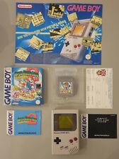 Nintendo Game Boy y Super Mario Land 6 monedas de oro en Caja Paquete Con Manuales