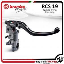 Pompe frein avant radial RCS PR 19X18-20 19RCS Brembo Racing + switch universale
