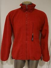 SIZE XL X-LARGE PATAGONIA MEN JACKET FLEECE RED  RETRO  POLYESTER primo euc