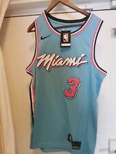 Maillot NBA JERSEY MIAMI HEAT Dwayne WADE VICE CITY S,M,L,XL