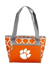 Clemson Tigers 16 Can Cooler Tote NCAA New