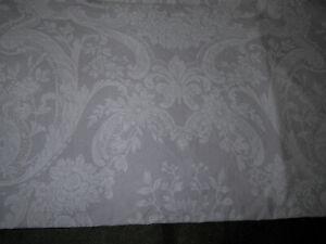 Ralph Lauren King Pillow Case Purple Floral Paisley Scroll Vintage Blue Label
