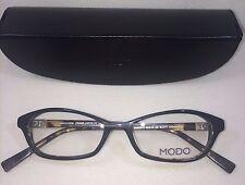 NEW Modo MODO 6013 BLACK TORTOISE Eyeglasses 50-16-138 BLKTT