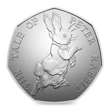 50p Coin Tale of Peter Rabbit  Beatrix Potter 2017 Coin from mint sealed bag