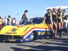 "Tom ""Mongoose"" McEwen NITRO Funny Car & Linda Vaughn & ""Hurstettes"" PHOTO! #(43)"